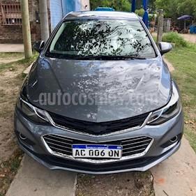Foto venta Auto usado Chevrolet Cruze LTZ (2017) color Gris Oscuro precio $695.000