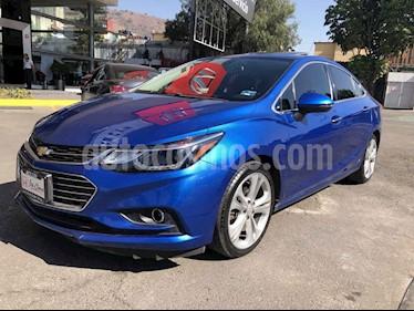 Chevrolet Cruze 4p LT L4/1.4/T Aut usado (2016) color Azul precio $215,000