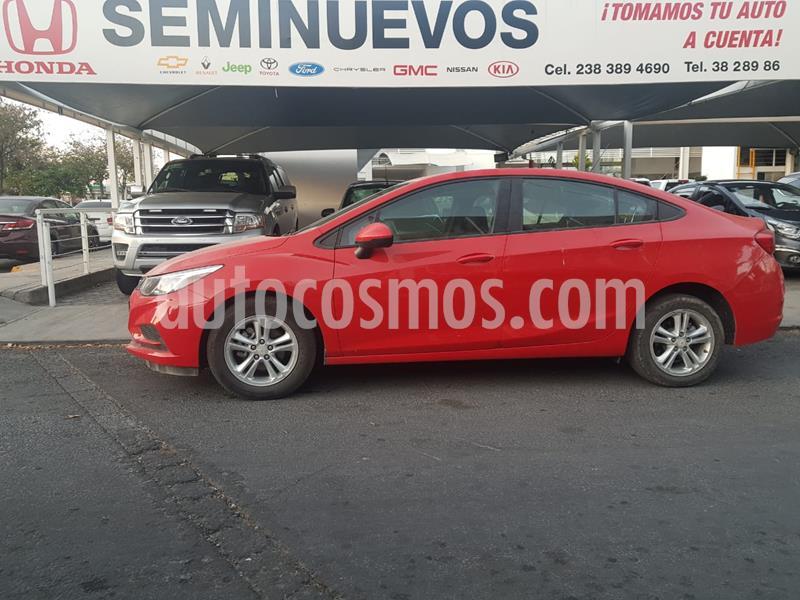 Chevrolet Cruze LS  usado (2018) color Rojo precio $229,000