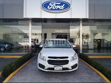 Chevrolet Cruze LT AUTOMATICO (PIEL, QUEMACOCOS, MYLINK, BOLSAS D usado (2015) color Blanco precio $119,000