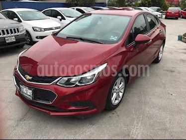 Chevrolet Cruze 4p LS L4/1.4/T Man usado (2017) color Rojo precio $209,000