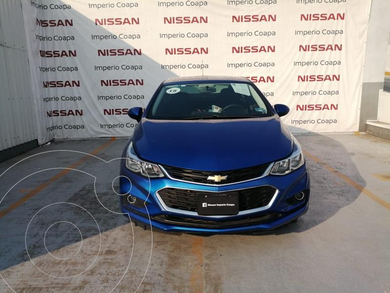 Chevrolet Cruze Paq C usado (2018) color Azul precio $245,000