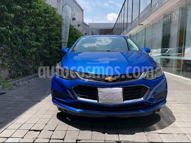 Chevrolet Cruze LS Aut usado (2017) color Azul precio $215,000