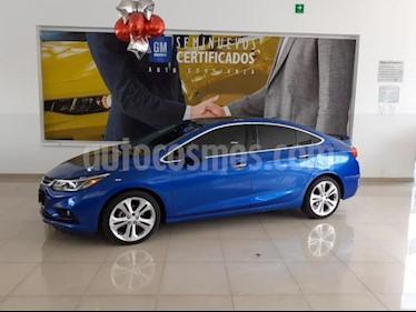 Chevrolet Cruze 4P PREMIER L4/1.4/T AUT usado (2017) color Azul precio $280,900