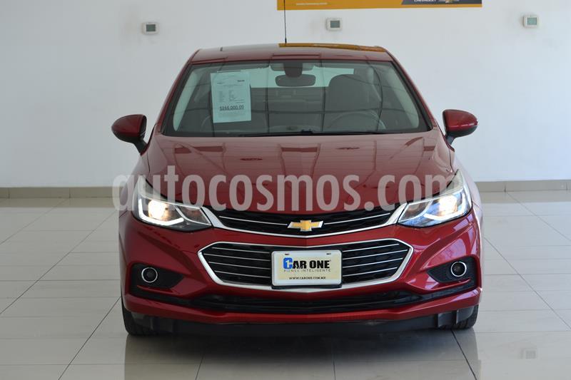 Chevrolet Cruze Premier Aut usado (2017) color Rojo precio $255,000
