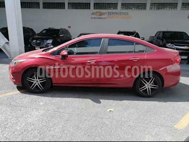 Chevrolet Cruze 4p LT L4/1.4/T Aut usado (2017) color Rojo precio $200,000