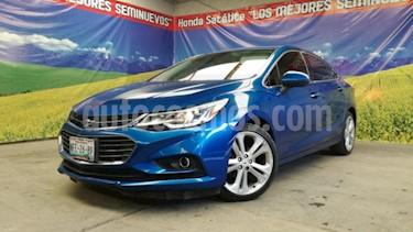 Chevrolet Cruze 4P LT PREMIER TA BOSE BL PIEL F.LED RA-18 usado (2017) color Azul precio $275,000