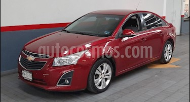 Chevrolet Cruze LT usado (2014) color Rojo precio $139,000