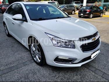 Chevrolet Cruze 4P LT TURBO AT BL QC RA-17 usado (2015) color Blanco precio $189,000