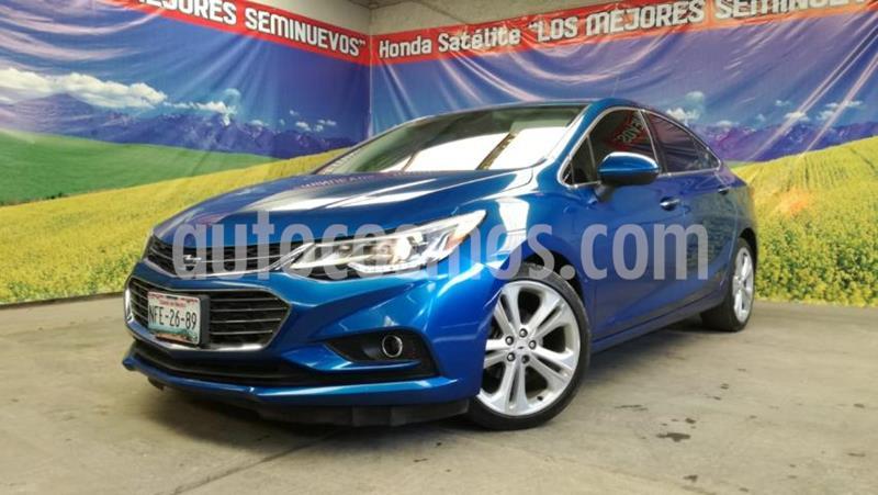 Chevrolet Cruze 4P LT PREMIER TA BOSE BL PIEL F.LED RA-18 usado (2017) color Azul precio $240,000