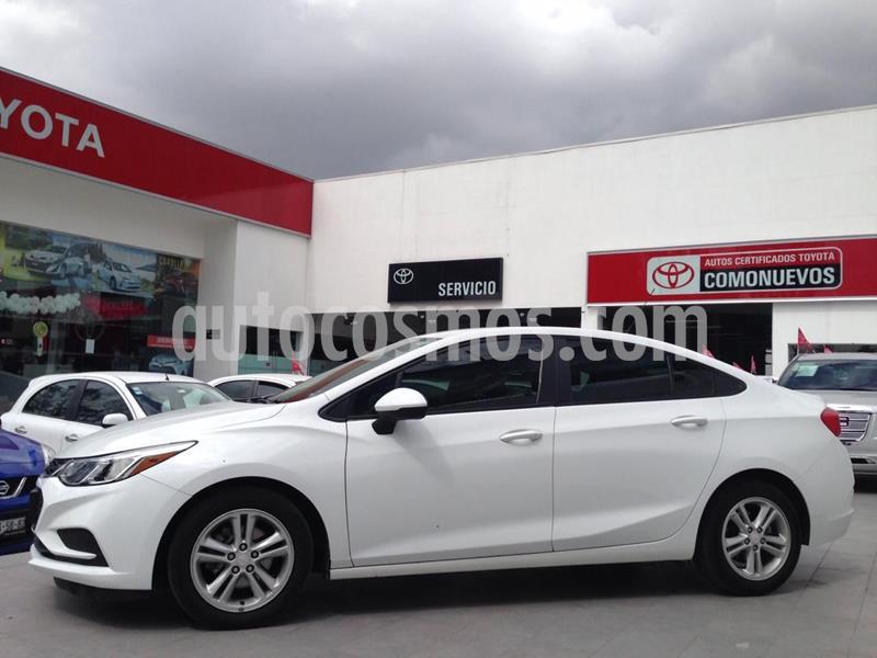 Chevrolet Cruze LS  usado (2017) color Blanco precio $205,000