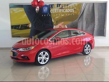 Chevrolet Cruze 4P PREMIER L4/1.4/T AUT usado (2017) color Rojo precio $262,862