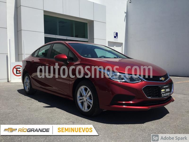 Chevrolet Cruze LS Aut usado (2018) color Rojo precio $265,000