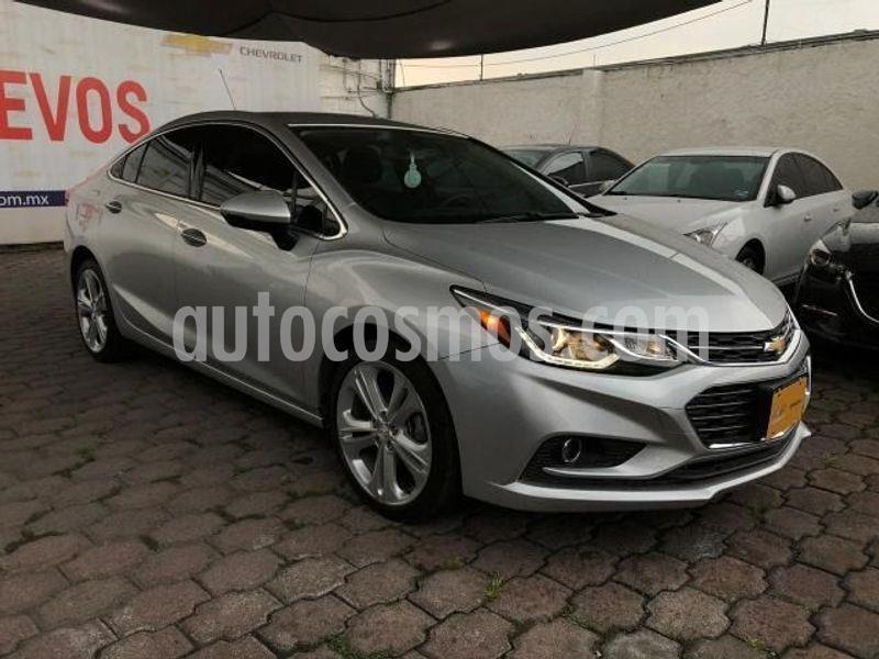 Chevrolet Cruze Premier Aut usado (2017) color Plata precio $263,000