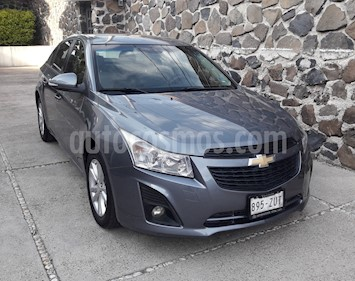 Chevrolet Cruze LS Aut usado (2014) color Gris Acero precio $110,000