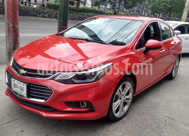 Chevrolet Cruze Premier Aut usado (2016) color Rojo precio $215,000