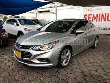 Chevrolet Cruze 4P PREMIER L4/1.4/T AUT usado (2017) color Plata precio $295,000