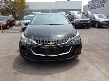 Chevrolet Cruze 4p LT L4/1.4/T Aut usado (2017) color Negro precio $228,500