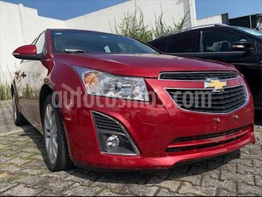 Chevrolet Cruze LT AT TELA usado (2014) color Rojo precio $134,999