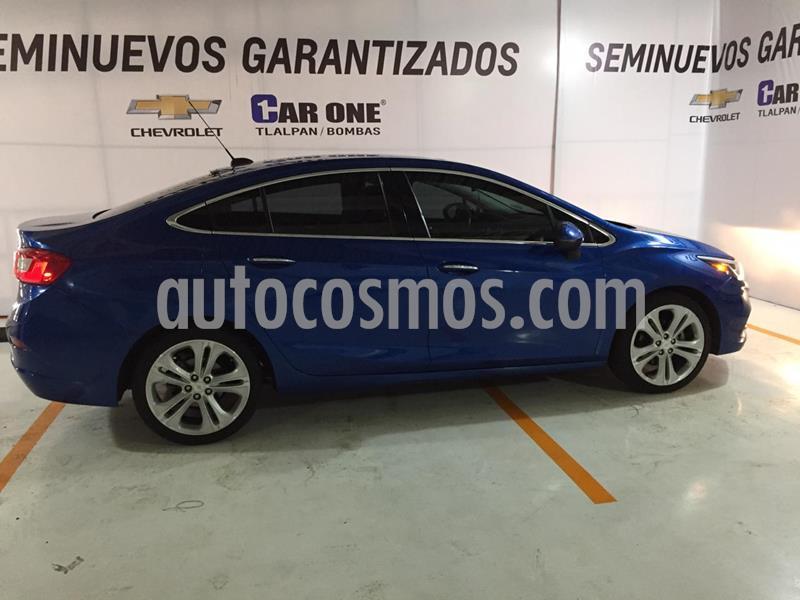 Chevrolet Cruze Premier Aut usado (2017) color Azul precio $240,000