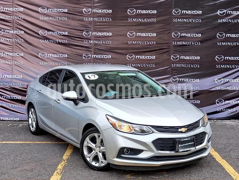 Chevrolet Cruze LT Aut usado (2017) color Plata Brillante precio $220,000