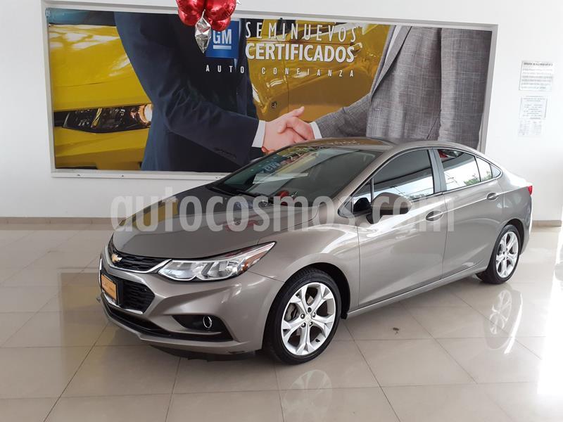Chevrolet Cruze Premier Aut usado (2018) color Gris precio $235,000