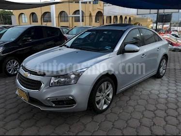 Chevrolet Cruze 4P LTZ L4/1.4/T AUT usado (2016) color Plata precio $235,000