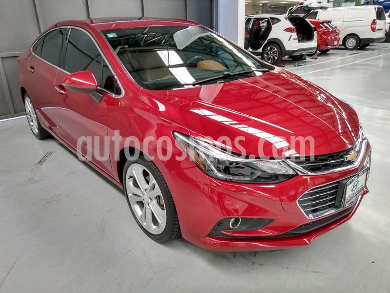 Chevrolet Cruze Premier Aut usado (2018) color Rojo precio $299,000