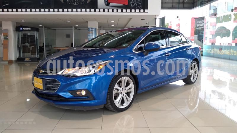 Chevrolet Cruze Premier Aut usado (2016) color Azul precio $239,000