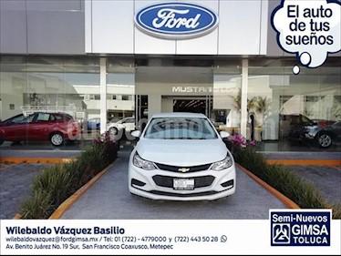 Chevrolet Cruze LT Aut usado (2018) color Blanco precio $257,000