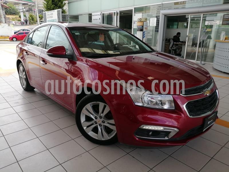 Chevrolet Cruze LT  usado (2016) color Rojo precio $179,000