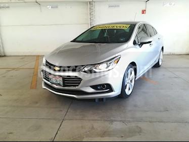 Chevrolet Cruze Premier Aut usado (2017) color Plata precio $264,000