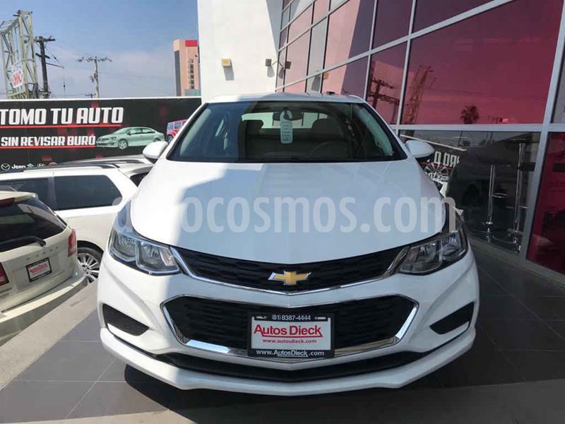 Chevrolet Cruze LS Aut usado (2017) color Blanco precio $195,000