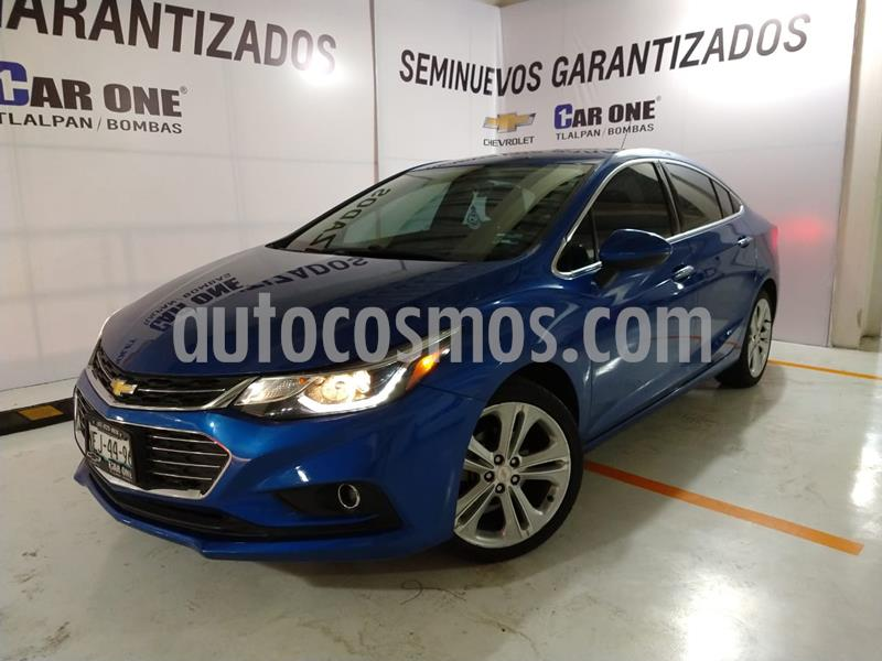 Foto Chevrolet Cruze Premier Aut usado (2017) color Azul Cobalto precio $240,000