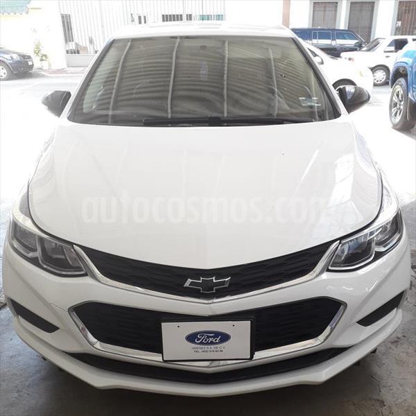 Chevrolet Cruze Premier Aut usado (2017) color Blanco precio $235,000