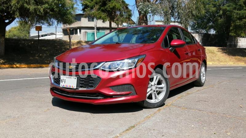 Chevrolet Cruze LS  usado (2017) color Rojo precio $185,000