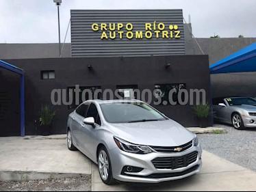 Chevrolet Cruze Premier Aut usado (2018) color Plata precio $275,000