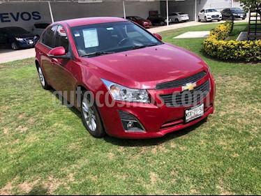 Chevrolet Cruze 4p LS L4/1.8 Man usado (2014) color Vino Tinto precio $150,001