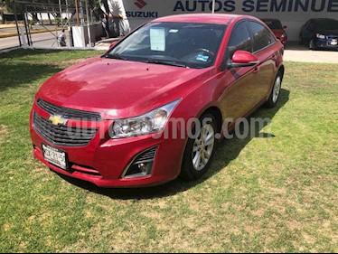 Chevrolet Cruze 4p LS L4/1.8 Man usado (2014) color Rojo precio $150,000