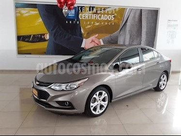 Chevrolet Cruze 4P LT L4/1.4/T AUT usado (2018) color Gris precio $263,622