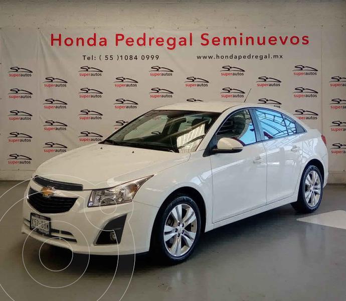 Foto Chevrolet Cruze LT Aut usado (2015) color Blanco precio $148,000