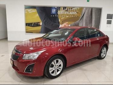 Chevrolet Cruze 4P LT L4/1.8 AUT usado (2014) color Rojo precio $148,900