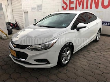 Chevrolet Cruze 4P LS TURBO AT BA RA-16 usado (2017) color Blanco precio $205,000