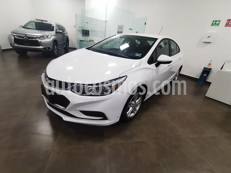 Chevrolet Cruze LS  usado (2017) color Blanco precio $195,000