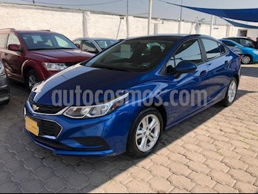 Chevrolet Cruze 4P LS L4/1.4/T MAN usado (2017) color Azul Marino precio $225,000