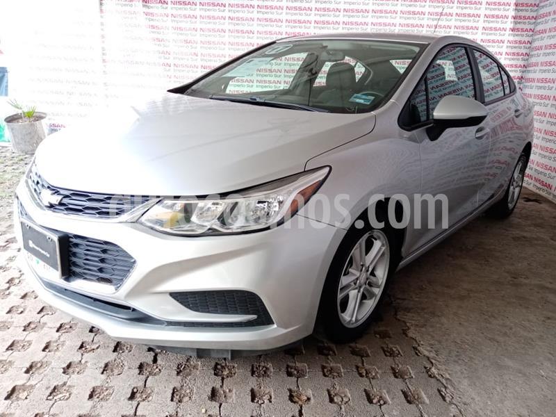 Chevrolet Cruze LS usado (2017) color Plata Brillante precio $210,000