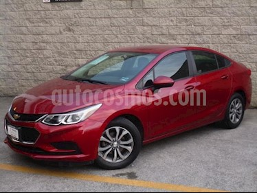 Chevrolet Cruze 4P LS L4/1.4/T AUT usado (2017) color Rojo precio $195,000