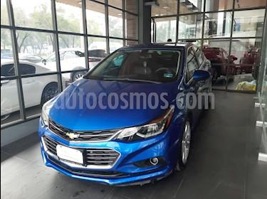 Chevrolet Cruze Premier Aut usado (2017) color Azul precio $199,000