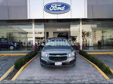 Chevrolet Cruze LS MANUAL (BOLSAS DE AIRE FRONTALES, FRENOS ABS,  usado (2015) color Gris Oscuro precio $116,000
