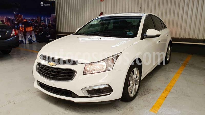 Chevrolet Cruze LT  usado (2016) color Blanco precio $185,000